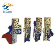 Hot Style Souvenir Soft Enamel Custom Metal Lapel Pin
