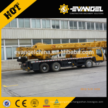 China mini truck mounted crane 35ton/military heavy equipment for sale