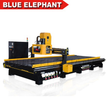 Blue Elephant 2060 CNC Carousel Tool Changer Router CNC Machine with Air Cooling Spindle