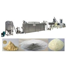 Modified starch extruder machine line