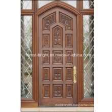 China Made Latest Wooden Door with Frame