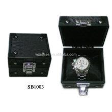 caja de reloj solo de aluminio de lujo por mayor de China fabricante