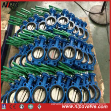 Wafer Type Line with Rubber Butterfly Valve