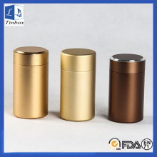 Aluminum Tea Coffee Sets Storage Tins