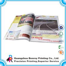 Drucken von Firmenprofilbüchern für Kunden