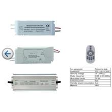 Pilote de LED Dimmable de température de couleur de contrôle à distance de rf