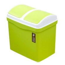 Cheap High Quality Double Shake Classify Plastic Dust Bin