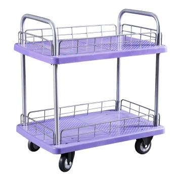 Double couchette en plastique, chariot à main, chariot