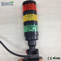 IP67 Three Stacks LED Signal Tower Light with 3 Years Warranty