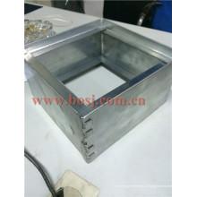 Amortisseur d'arrêt en aluminium sans retour automatique pour la ventilation de climatisation Machine à former des rouleaux Thaïlande