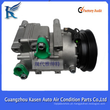 GUANGZHOU SUPPLIER VS16N 12V auto compressor de ac para HYUNDAI ACCENT