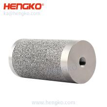 HENGKO 50-90 Micron powder sintered Stainless Steel Sintered Metal Filter Cartridges for Gas Liquid Separation