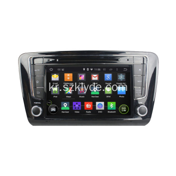 Skoda Octavia Steering Wheel Android 용 2 Din