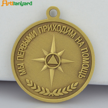 Top Quality Metal Medal with Soft Enamel