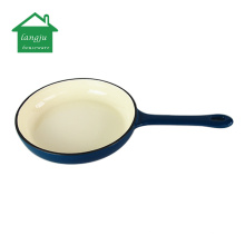 Enamel Cast Iron Combo Cooker Sauce Pan with Skillet Lid
