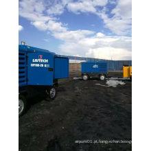 Atlas Copco Liutech Compressor de ar diesel de alta pressão portátil do parafuso