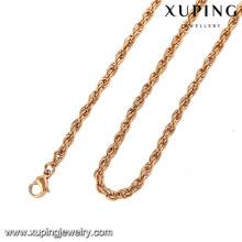 42949-Xuping Collar de cadena larga de joyería elegante al por mayor