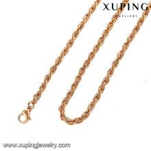 42949-Xuping оптом элегантные ювелирные изделия длинная цепь ожерелье