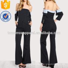 Полоску с плеча топ и брюки комплект Производство Оптовая продажа женской одежды (TA4104SS)