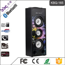 BBQ KBQ-165 25W 3000mAh 2016 Hot Selling Wireless Tower Home Theater Speaker