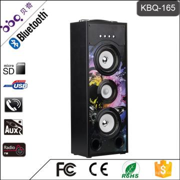 BBQ KBQ-165 25W 2000mAh Altavoz portátil Bluetooth Subwoofer