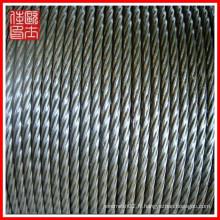 Vente en gros ss 304 316 cordes en acier (fabrication)
