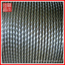 Wholesale ss 304 316 steel wire rope(manufacture)