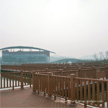 China Factory DIY Installation Landscape Commercial WPC Synthetic Wood Handrail/ Plastic Composite Railing