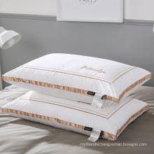 Home Textile Neck Pillow Cotton Shell Fibre Filling 20X30 Inches
