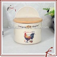 Envases de especias de cerámica