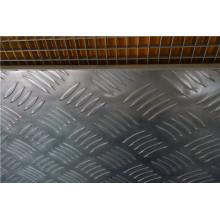 Antideslizante / anti deslizamiento 1220 * 2440mm paneles de panal de aluminio