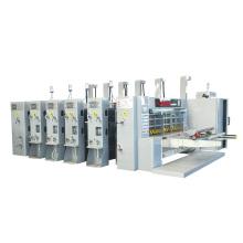 Hot sale & high quality high speed flexo printing & slotting & rotary die cutting machine