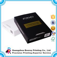 Профессиональная печать Размер пользовательские окраски бумаги картона коробки дисплея