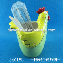 Держатель для керамической посуды высокого качества с петушиной формой