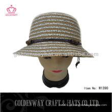 Chapéu de balde feminino chapéu de sol de verão