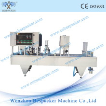 8 Water Cups Yogurt Filling Sealing Packing Machine with Ce