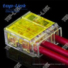 3-Conductor Terminal Block, Wago Equivalent Connector