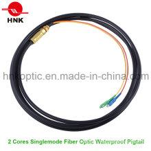 Открытый дуплекс Водонепроницаемый оптоволоконный кабель