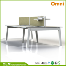 Different Style Office Furniture Table for Four Person