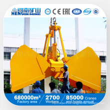 Dos o Multi-Clamshell Electro-hidráulico Grab para la venta (DYZ)