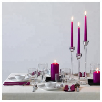 Ren Burning Tall Color Dripless Taper Candles