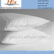 Entièrement recouvert de téflon de percale de coton ou de 180 fils d'oreiller en percale de polycoton (paire)