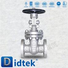 Didtek Stainless Steel OS&Y Rising Stem Flanged Handwheel Operate Gate Valve