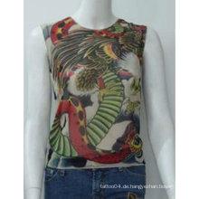 2012 heißes Verkaufs-Tätowierung-T-Shirt / Hülsen