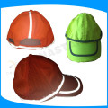 fluorescent orange color safety caps, high vis hoodie for workers