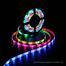New 5050 SMD RGB 30LED/M Strip Light WS2811 IC Chasing Magic Dream Color Lights with factory price