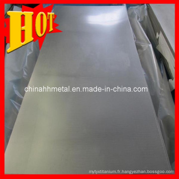 Feuille de titane ASTM B265 Gr 5 Ti6al4V avec le meilleur prix