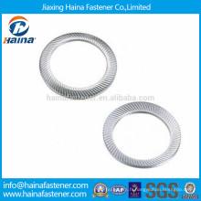 Rondelle de sécurité DIN9250 316 en acier inoxydable, rondelle de sécurité dentée M3