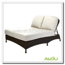 Audu Double Handmade Sunbed Outdoor Lounge Bed