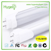 CE RoHS Lampe à tube à LED de 8 pieds Intégré 18W led price led tube tube T8 LED Tube Lighting